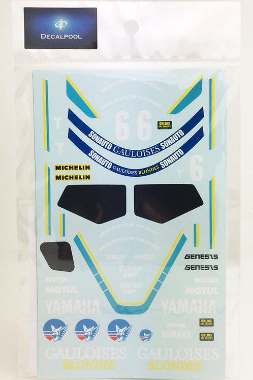 1/12 Yamaha FZR500 Gauloises #1 C. Sarron 85' Bold' Or 24 Hour