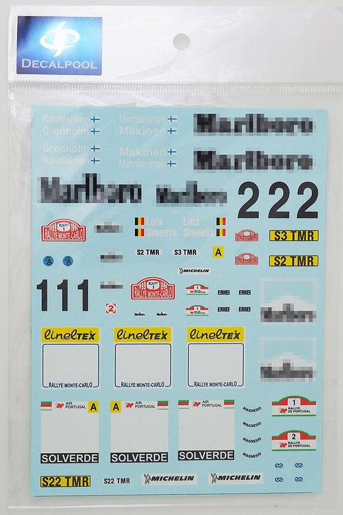 1/24 Mitsubishi Lancer Evo VI Marlboro Monte Carlo & TAP Portugal Rally '99 WRC