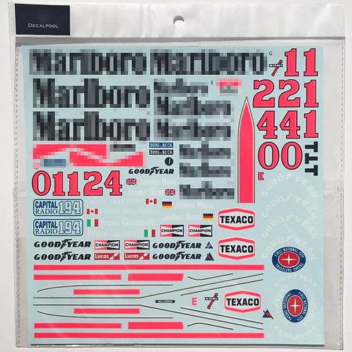 1/12 McLaren M23 Marlboro '76