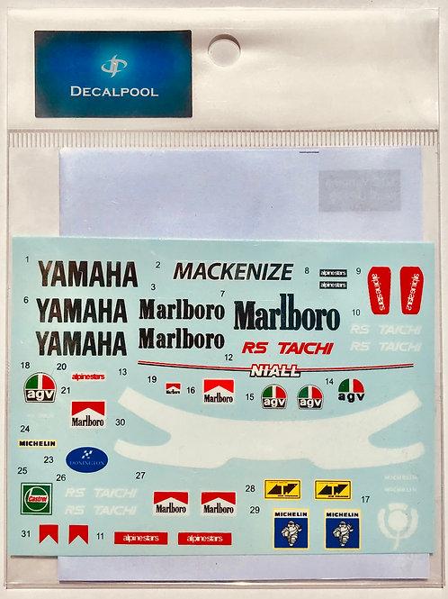 1/12 Yamaha YZR500 Marlboro WGP '89 Niall Mackenzie Rider