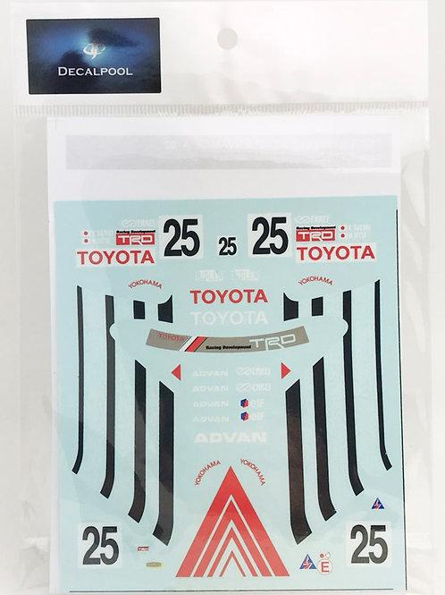 1/24 Toyota Levin Corolla AE101 ADVAN Inter TEC Gr. A '92