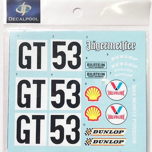 1/12 Porsche Type 934 Jagermeister GT #53 RSR #GT53 Gr. 4 Nüremberg '76 Option