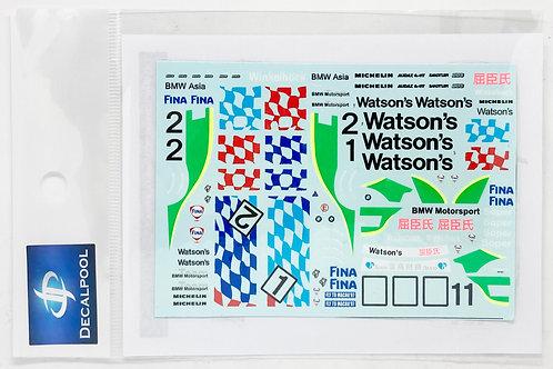 1/43 BMW 318i (E36) Watson's #1/2 Macau Guia Race '97