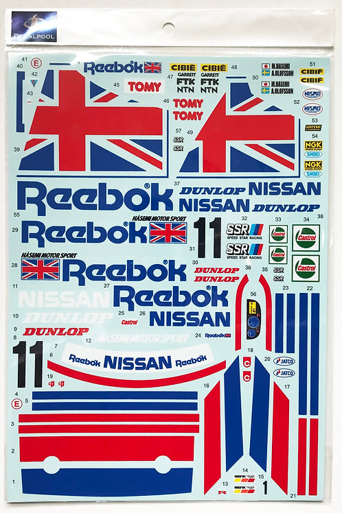 1/12 Nissan Skyline R32 GT-R Reebok #1/2 Group A '92