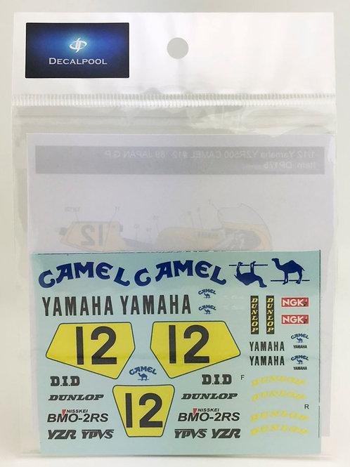 1/12 Yamaha YZR500 Camel K. Ohishi WGP'89