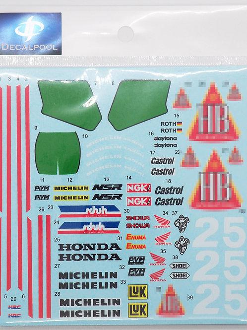 1/12 Honda NSR250 #2/5 HB International WGP '89-90
