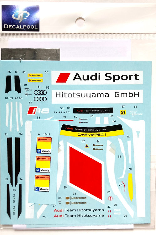 1/24 Audi R8 LMS Hitotsuyama #21 Super GT 300 '17
