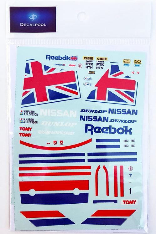 1/24 Nissan Skyline R32 GT-R Reebok Gr. A '90