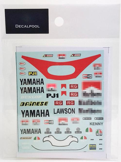 1/12 Yamaha Marlboro '83 WGP E. Lawson / K. Robert Rider