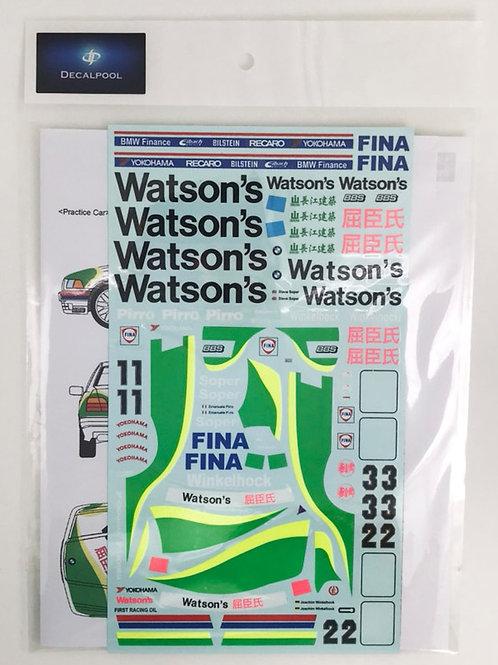 1/24 BMW 318i (E36) Watson's J. Winkelhock Macau Guia '93