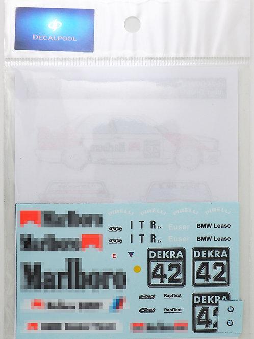 1/24 BMW M3 (E30) Marlboro #43 C. EUSE DTM '92