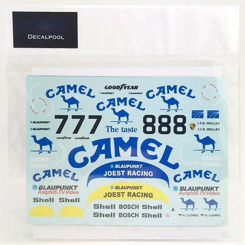 1/24 Porsche 962C Camel #7/8 '87 500km. Kyalami