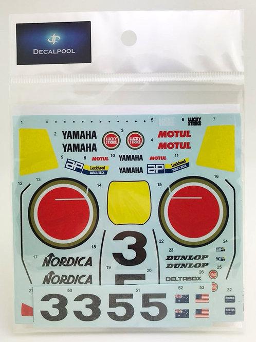1/12 Yamaha YZR500 #3/5 (0W98) Lucky Strike W. Rainey WGP '89