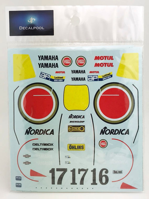 1/12 Yamaha YZR500 #16/17 (0W98) Lucky Strike W. Rainey WGP '88