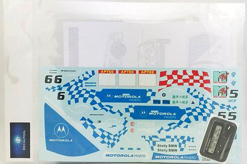1/24 BMW 318i (E36) Motorola Pagers T. Havery Macau Guia '94