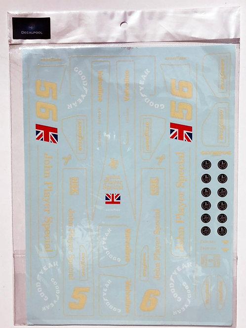 1/12 Lotus 78 / MK III John Player Special '78