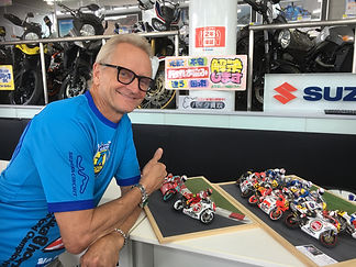 Kevin Schwantz in Japan 2018