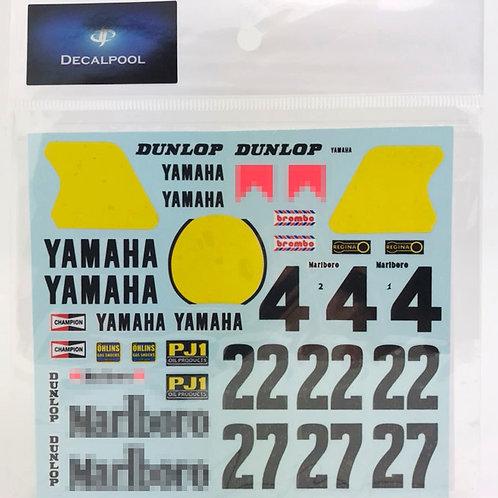 1/12 Yamaha YZR500 #4 Marlboro K. Roberts WGP '83