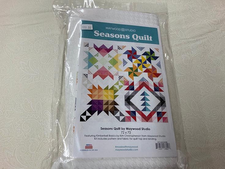 Seasons Quilt by Maywood Studio