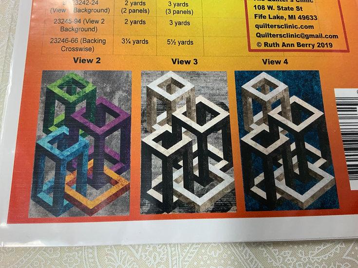 Vista Boxes - Single Size Quilt Kit