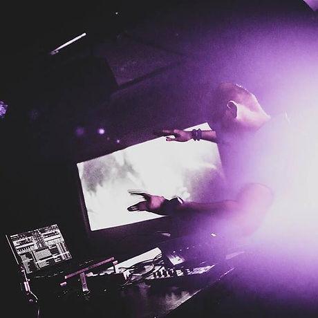 Adnan Jakubovic DJ Stuttgart club party.