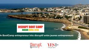 Disrupt BootCamp Dakar 2018