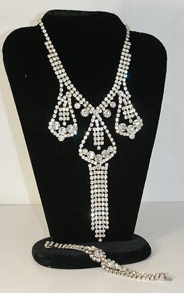 Drippy Diamante Demi Parure