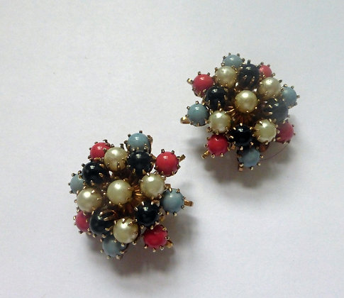 A pair of 1960's earrings