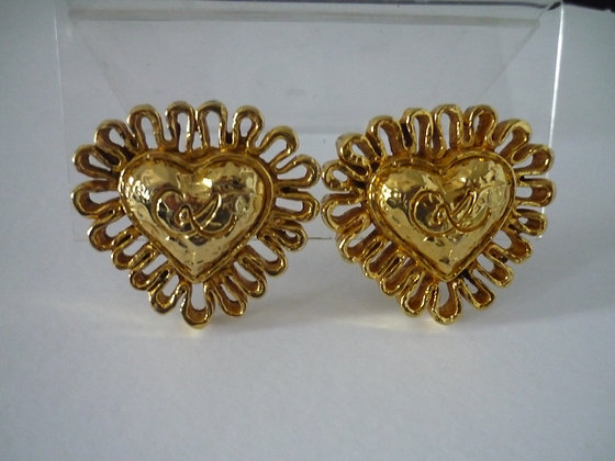 A Pair of Christian Lacroix Earrings