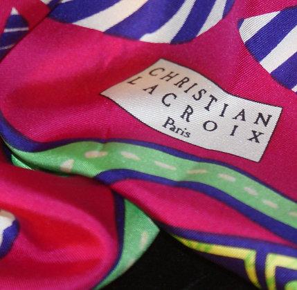 A Lacroix Silk Scarf