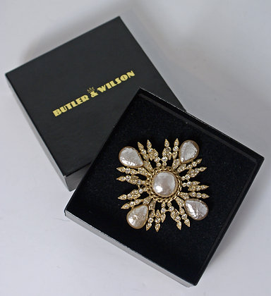 A Butler and Wilson Statement Brooch