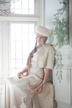 Bridal hats and furs