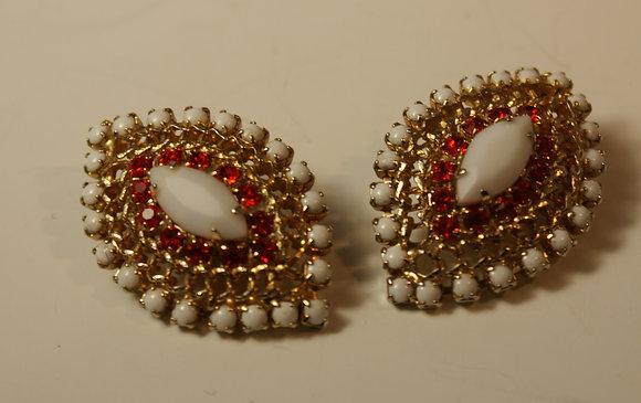 A Pair of Hobe Earrings