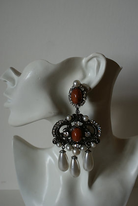 A Pair of Larry Verbr Earrings