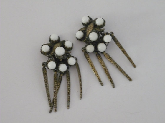 A Pair of Mitchel Maer for Dior Earrings