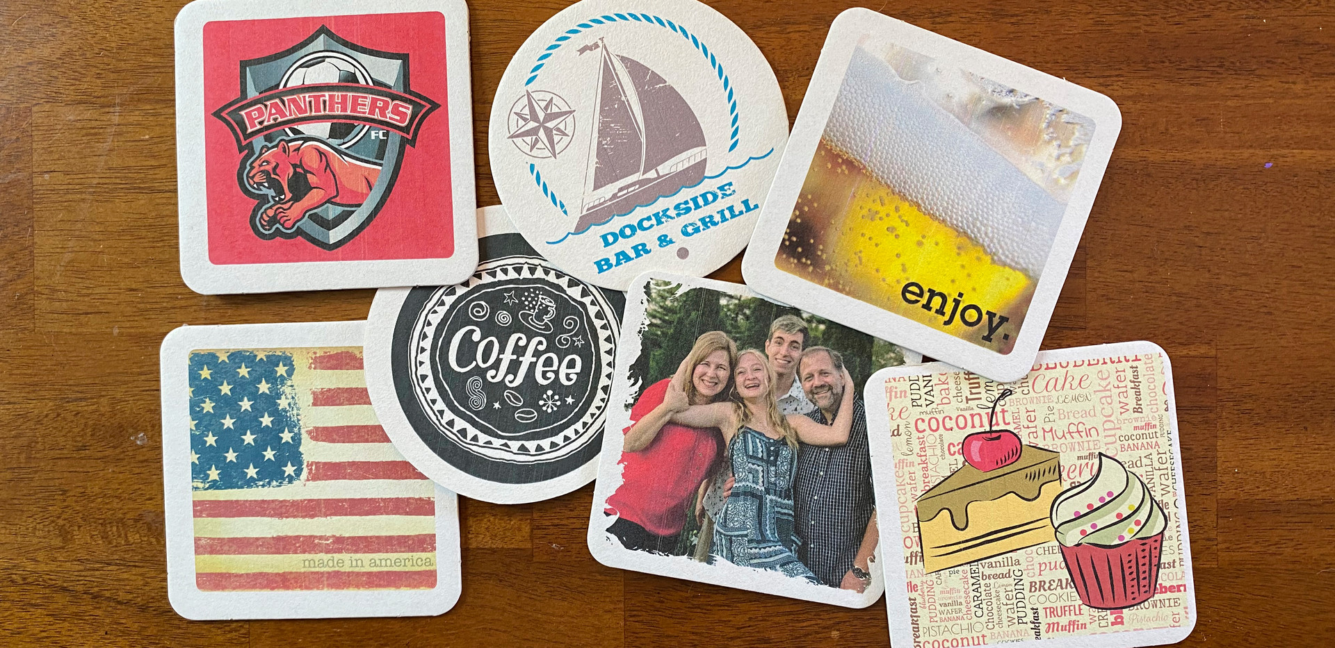 Custom Printed Drink Coasters