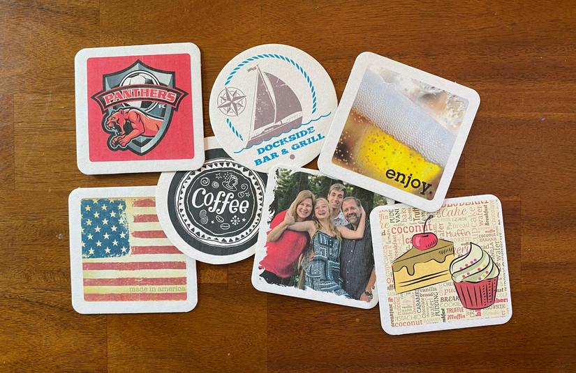 Custom Printed Drink Coasters