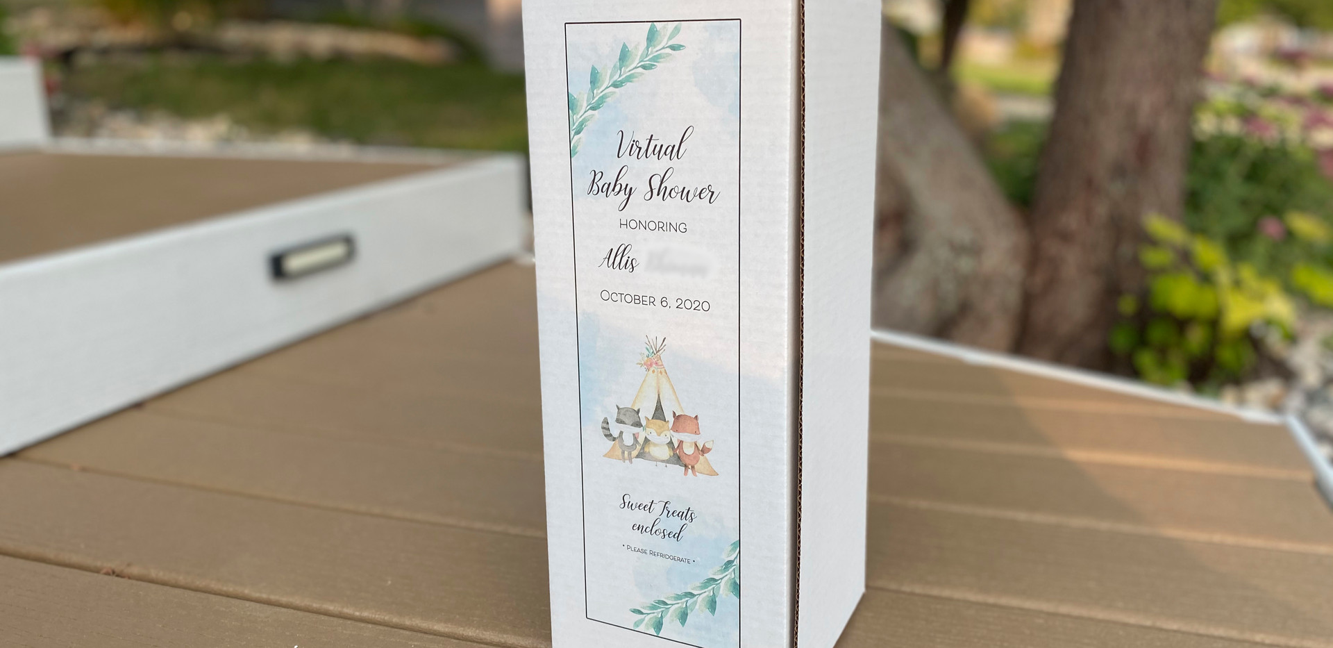 For Virtual Baby Shower
