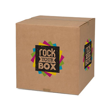 Full color custom printed Kraft Box