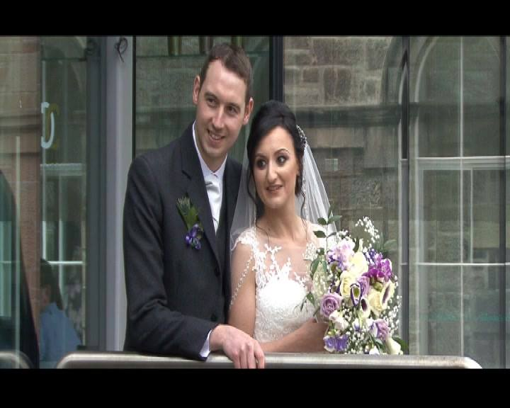 Eskmills Venue wedding DVD Danielle & Michael
