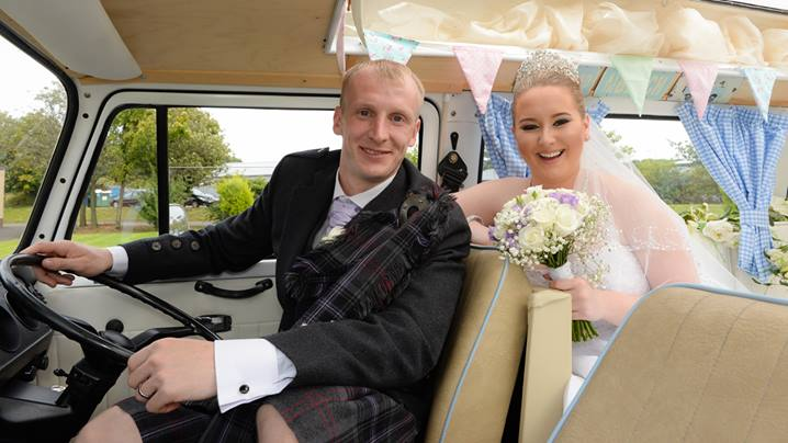 Here's Gemma & John's wedding dvd highlights. Gemma also booked our cream Beauford and Camper for her wedding. We hope you enjoy this little taster from their big day! AB FAB x