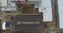 Aerial photography in construction