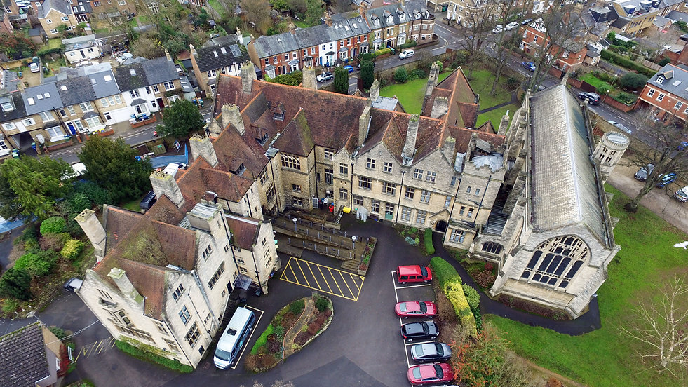 Church Aerial Roof Survey / Inspection Oxfordshire