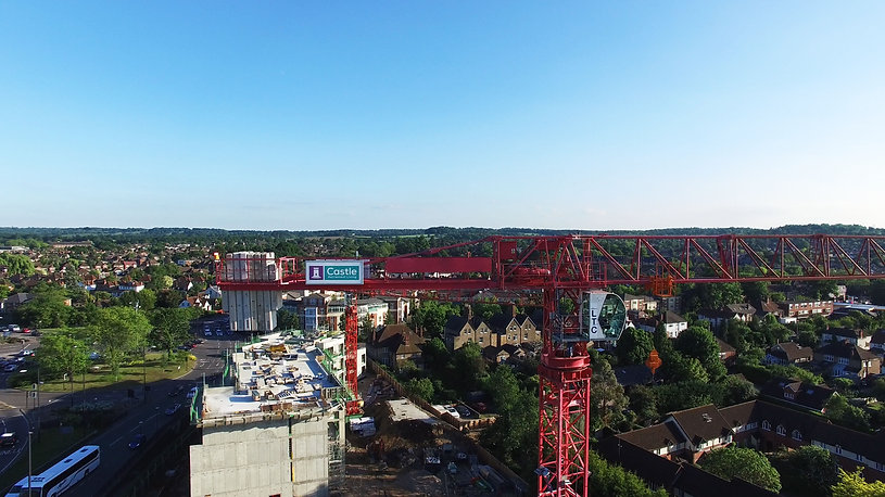 Drone-based aerial photography for construction