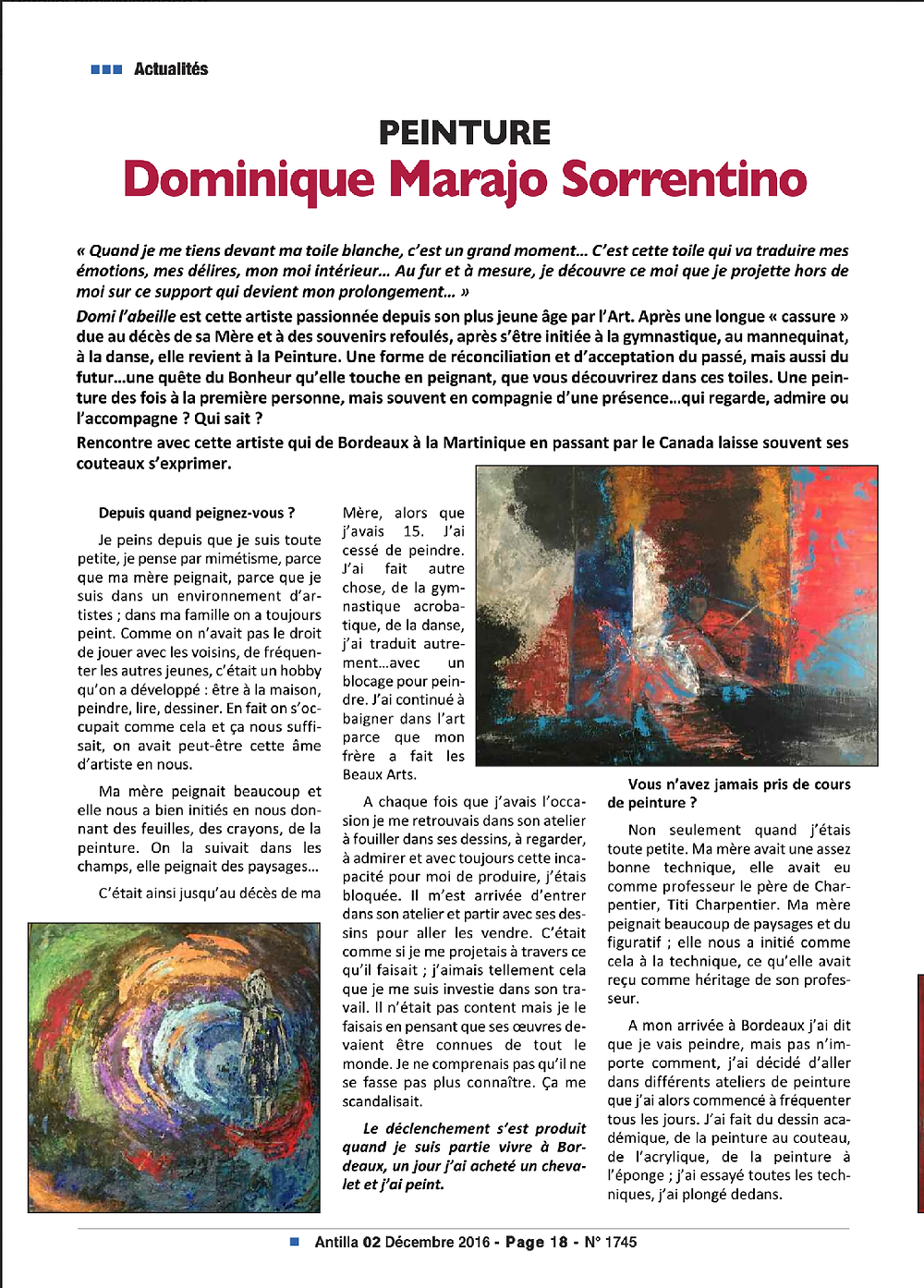 article antilla dominique marajo sorrentino p1