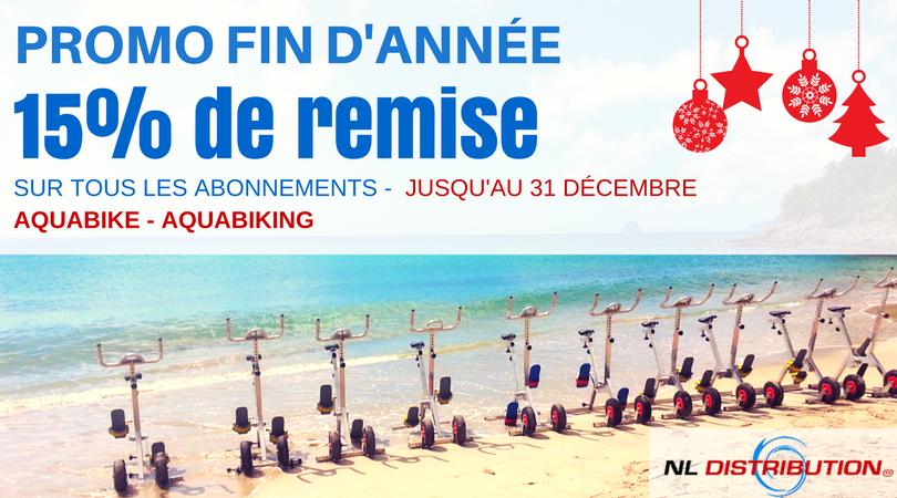 aquabike nl distribution promo fin d'annéee