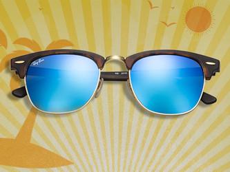Reflétez votre style avec une touche de brillance en plus grâce aux verres flash miroités