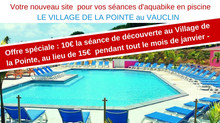 Découvrez la piscine du Village de la Pointe