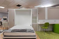 Meubles du Littoral | Armoire lit avec canapé