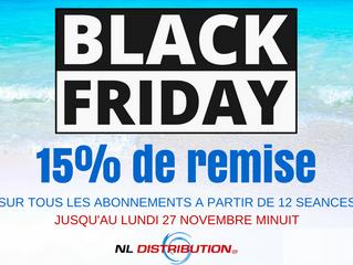 Black Friday ... profitez de notre super promos -15%*